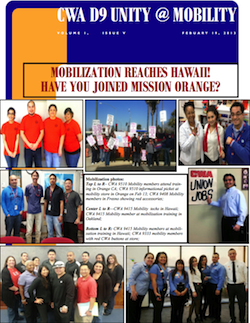 Unity at Mobility Mobilization Newsletter