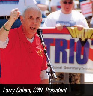 Larry Cohen, CWA President