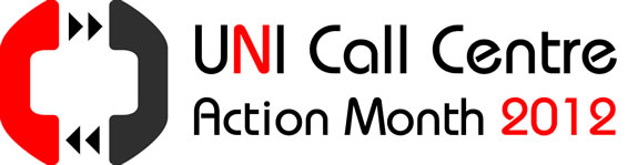 UNI Call Center Action Month Banner
