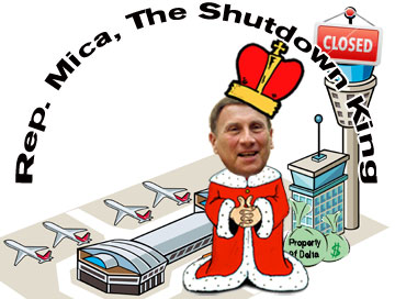 The shutdown king