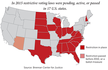 State Voting Restrictions